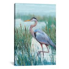 icanvas marsh heron ii by tim otoole canvas wall art vin42 1pc3 26x1 the home depot