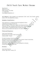 Day Care Experience On Resume Sample Resume Child Care Worker Child Care Resume Child Care Worker