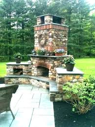 outdoor fireplace designs ideas pictures of outside fireplaces patio with brick plans 1 covered