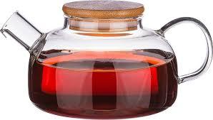 <b>Чайник заварочный Agness</b>, 250-119, прозрачный, 600 мл ...