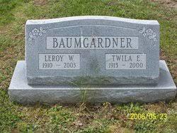 Leroy Wallace Baumgardner (1910-2003) - Find A Grave Memorial