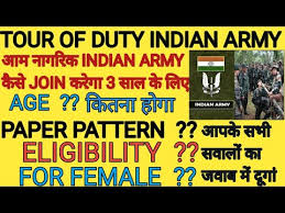 tour of duty indian army paper pattern