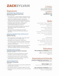Sample Social Media Resume Marketing Resume Samples Lovely 100 social Media Marketing Resume 49