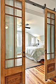 interior barn door with glass. Barn Door Designs Interior Glass Paneled Sliding Doors Modern . With
