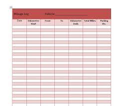 Km Log Sheet 30 Printable Mileage Log Templates Free Template Lab