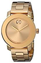 movado watches amazon com movado women s 3600085 bold gold tone watch