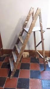 wood ships ladder for vintage wooden step old custom