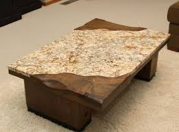 granite coffee table. Furniture: Desired Granite Coffee Table With Rectangular Shape Can Be Inspiration For Your Minimalist Home Place Black Surface Part Or Called And S