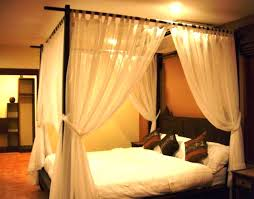 Black Canopy Bed Curtains Hot Blackout Canopy Bed Curtains ...