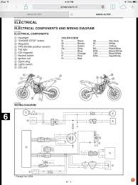 01 yz426f stator page 2 the wr426f wiring schematic
