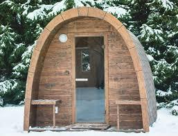 Sauna Igloo En Épicéa De Sibérie   Couverture Shingle   Hauteur 244 Cm    Longueur 250 Cm   Largeur 244 Cm   Poêle Bois   TerraGallia   Lu0027habitat Au  Naturel