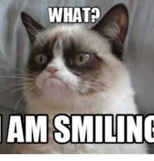 grumpy cat i am smiling. Perfect Cat Grumpy Cat I Am Smiling WHAT AM SMILING On Smiling Funny
