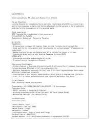 Free Sample Of Resume Unique Mba Sample Resumes Keralapscgov