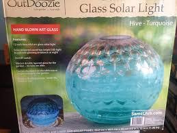 Outdoozie Outdoor Glass Solar Light