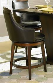 homelegance bays swivel counter height chair leatherette