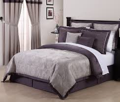 8pcs queen debois purple embroidered comforter set bedrooms in and gray decor 14