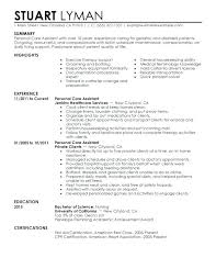 Personal Assistant Resume Examples Resume Pro