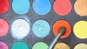 orange eyeshadow and bold blue winged eyeliner eye makeup tutorial video dailymotion video dailymotion