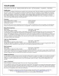 Babysitter Resume Objective Haadyaooverbayresort Com