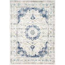 verona blue 8 ft x 10 ft area rug