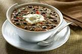black bean and chipotle soup