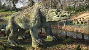 Abstract dinosaur models in london. Historic Life Size Dinosaur Sculptures In Crystal Palace Added To At Risk Register Uk News Sky News