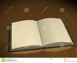 3d book with empty pages stock image image of page reading 5701891