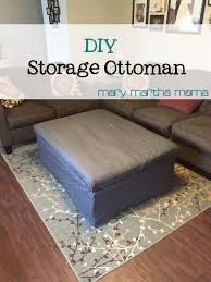 diy storage ottoman. Fine Ottoman Diy Storage Ottoman Pinterest Intended Diy Storage Ottoman