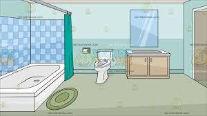 a house bathroom background cartoon clipart vector toons