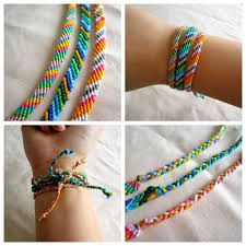 picture of how to make a friendship bracelet