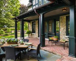 faux copper gutters. Exellent Gutters Apply Faux Copper Gutters  Traditional Porch Pillars With  To U