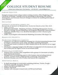 Resume Example College Ellseefatih Com