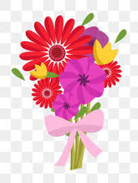 bunch of flowers png images vector