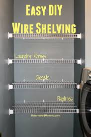 wire closet shelving. Winsome Furniture Design Easy Diy Wire Shelving Home Storage: Large Size Closet T