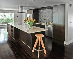 Dark wood floors Wide Plank View In Gallery Dark Wood Floors Modern Kitchen Photos Hgtv How To Use Dark Floors To Brighten Your Dull Home
