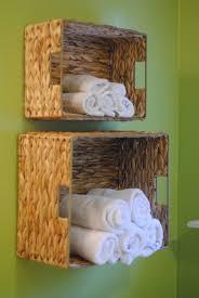 Bathroom Towel Diy Bathroom Towel Storage In Under 5 Minutes Making Lemonade