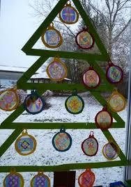 Arbeiten Der Klasse 2 Fensterdeko Weihnachten Basteln