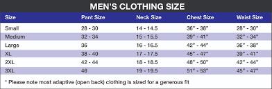Dress Size Chart For Men 2019