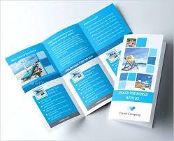 Tri Fold Brochure Template Free Ms Word Tri Fold Brochure Template