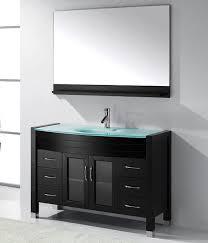 virtu usa ava ms 509 espresso bathroom vanity set