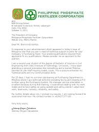 Application Letter In The Philippines Government