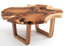 Coffee Table:Natural Wood Solid Coffee Table Natural Wood Coffee Table  Round Round Coffee Tables