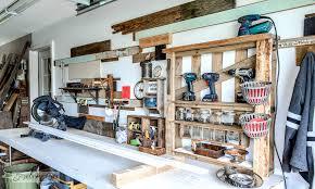 garage workshop. workshop garage before o
