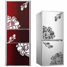 <b>1PCS</b> DIY <b>butterfly flower</b> vine fridge wall stickers for livingroom ...