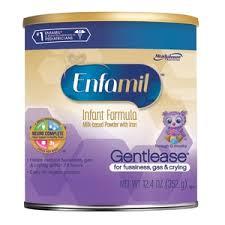 Enfamil Gentlease Infant Formula For Fussiness Gas 12 4oz