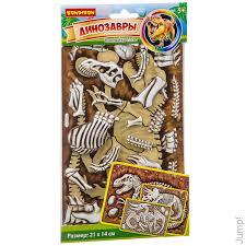<b>Bondibon Наклейка</b>-<b>пазл</b> Тираннозавр купить по цене 100 руб. в ...