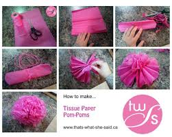 How To Make Tissue Paper Balls Decorations Stunning Diy Pom Tissue Paper Balls Flowers Party Image For Crepe 4