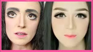 i followed an indonesian makeup tutorial
