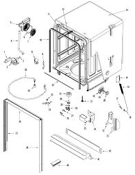 Jenn air dishwasher parts model jdb1250awp sears partsdirect
