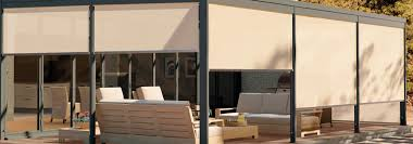 motorized outdoor shades for windows. exterior-solar-hero motorized outdoor shades for windows o